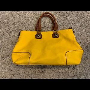 Handbags - Mustard Yellow Tote Bag